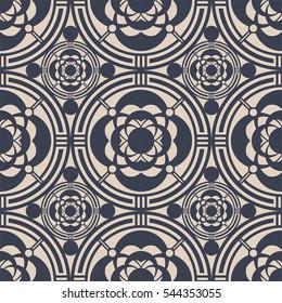 Japanese pattern design. seamless vector EPS10