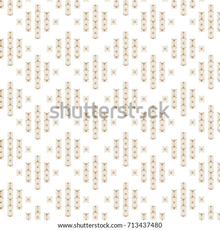 Japanese Pattern Vector Gold Geometric Background Stock Vector