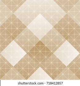 Japanese pattern vector seamless. Gold geometric background on paper pleat style for backdrop, template, cover page design, poster.