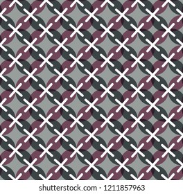 Japanese pattern vector. Textile retro background.