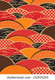 A Japanese style background