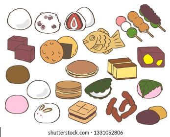 Japanese sweets 'Wagashi'