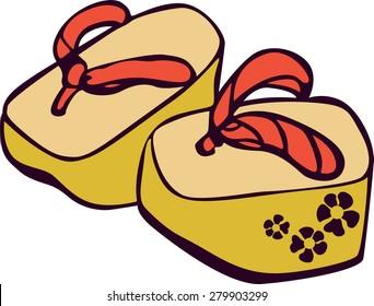 Japanese traditional footwear.