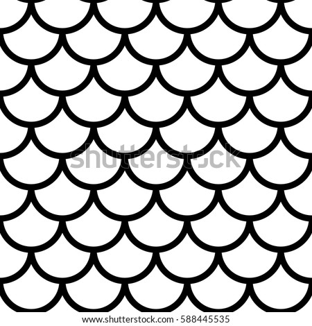 Japanese traditional ornament Seamless