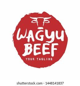 Japanese Wagyu Beef Logo Design Concept