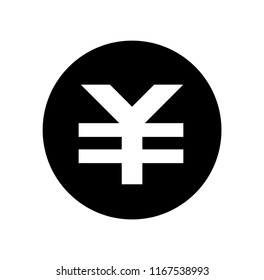 Japanese yen mark (JPY) icon