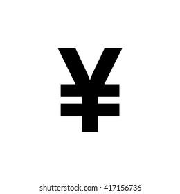 Japanese Yen. Vector illustration