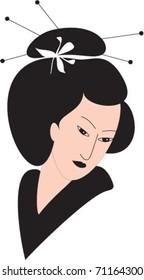 japanese's head