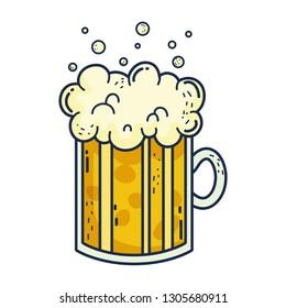 jar beer saint patrick day