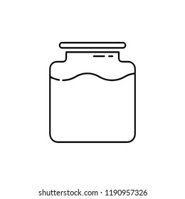 jar container beaker