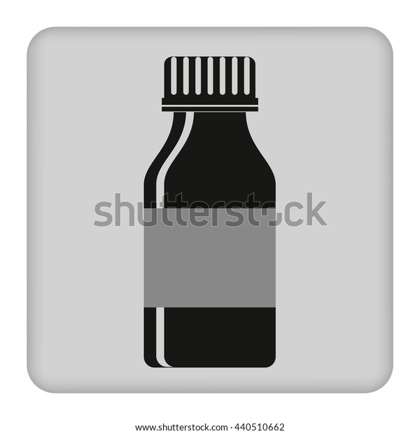 jar icon . vector illustration on gray background
