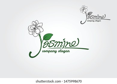 Jasmine is a luxury script font with a touch of elegant handwriting, looks very classy, and modern. Made for those who need illustrative, trustworthy, memorable, editable, simple and versatile logo.