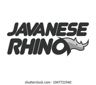 Javanese Rhino logo