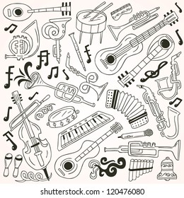 jazz - doodles collection