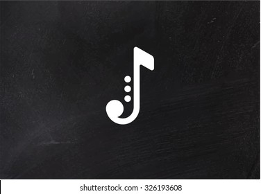 Jazz music vector logo.