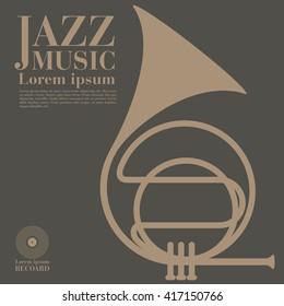 jazz, trumpet.