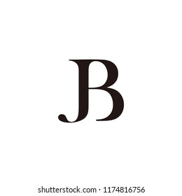jb letter vector logo