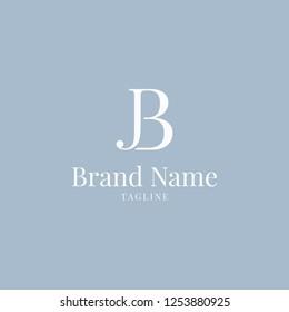 JB logo elegance skyblue