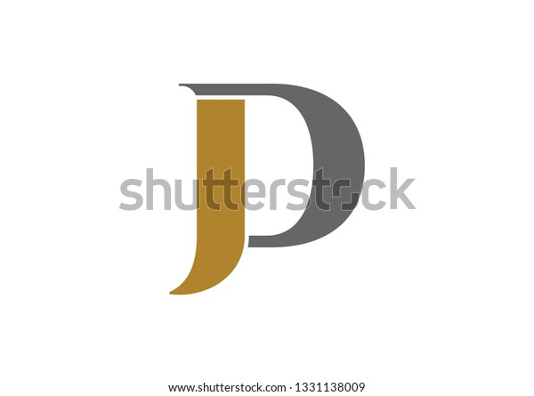 jd logo design stock vector royalty free 1331138009 shutterstock