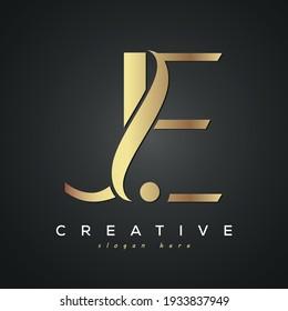 JE creative luxury premium letter logo