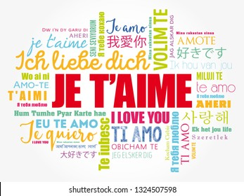 T'aime Images, Stock Photos & Vectors | Shutterstock