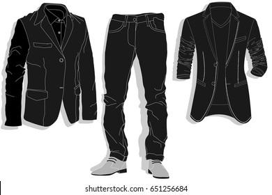 04061ce81 Ilustraciones, imágenes y vectores de stock sobre Camisa Vaquera ...