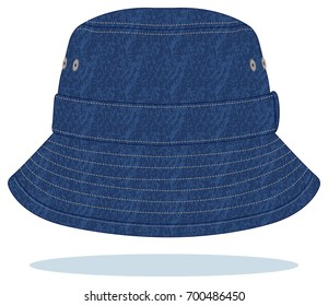 Jeans safari hat