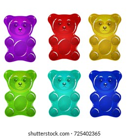 Jelly bears set