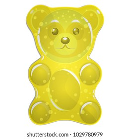 Jelly bears  yellow