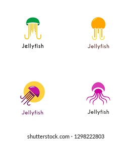 Jelly Fish Logo Design