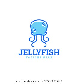 Jelly Fish Logo Design Template