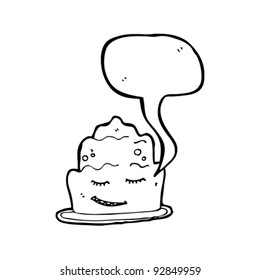 jelly with speech bubble