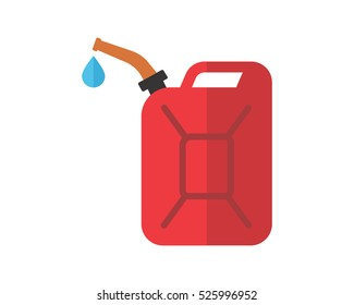 jerry can oil refinery industry industrial business company image vector icon logo symbol