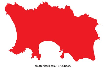 Map Of Uk Including Jersey.Island Jersey Map Images Stock Photos Vectors Shutterstock