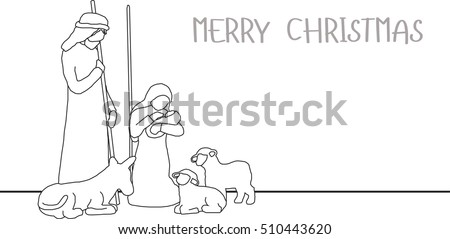 jesus birthday on christmas day baby born in poor family with sheep mary and