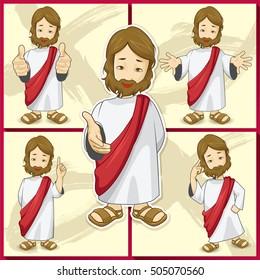 Jesus' character. Various operations. Job applications