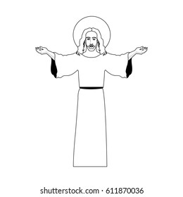 jesus christ christian icon image