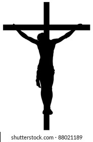 Jesus Christ Crucifiction Silhouette