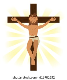 jesus christ crucified religious symbol