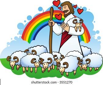 Jesus is a good Shepherd
