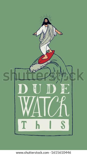 jesus-surfing-funny-motivational-typogra