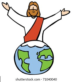 Jesus and the world