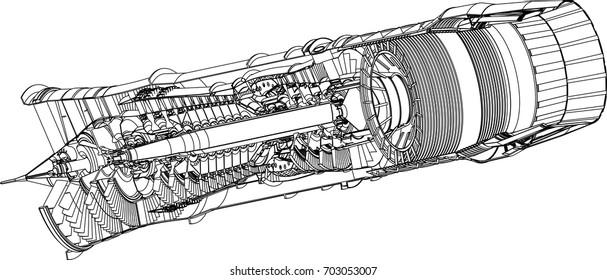 Marvelous Jet Engine Images Stock Photos Vectors Shutterstock Wiring 101 Photwellnesstrialsorg
