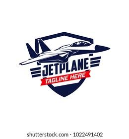 Jet plane Logo Design
