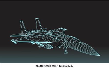 Jet plane structure
