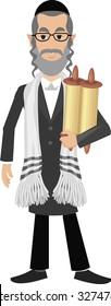 jew with torah