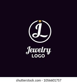 Jewelry / Initial JL logo design inspiration
