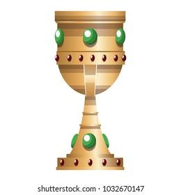 Jewerly chalice with diamonds