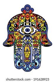 Jewish sacred amulet