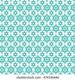 Jewish star pattern